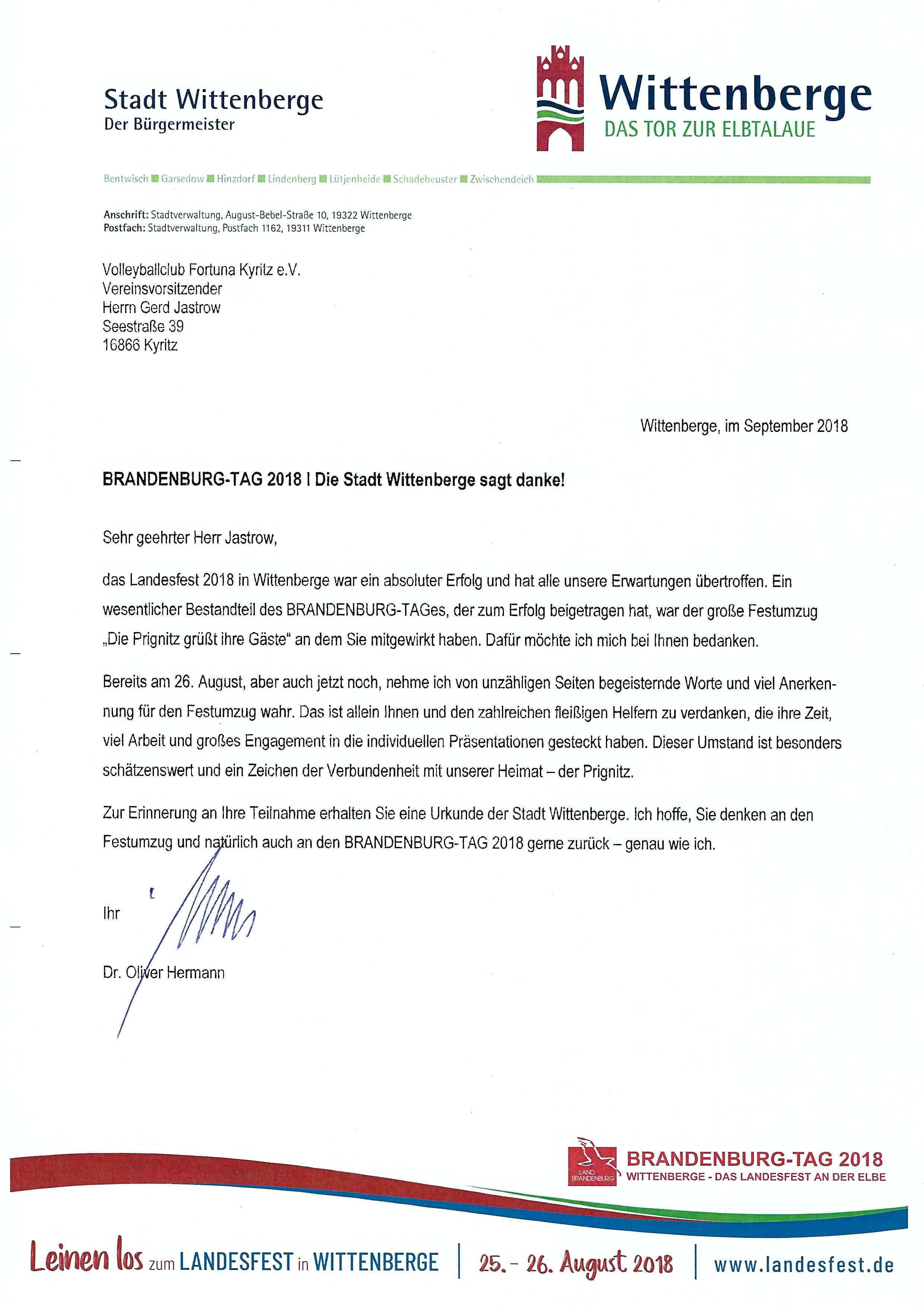 Brandenburg-Tag Wittenberge sagt Danke_0002